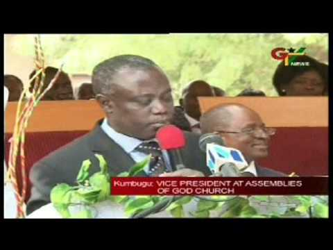 Vice President Mahama Honoured By Church.wmv