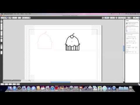 Silhouette Studio Tutorial: Creating your own cut and print files (Outline Only)
