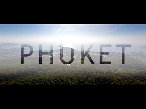 Phuket travel by drone (Thailand)