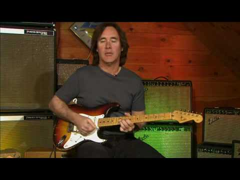Carl Verheyen Demonstrates his Stratocaster