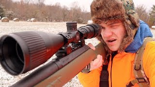 Deer Hunting Kentucky in the SNOW!