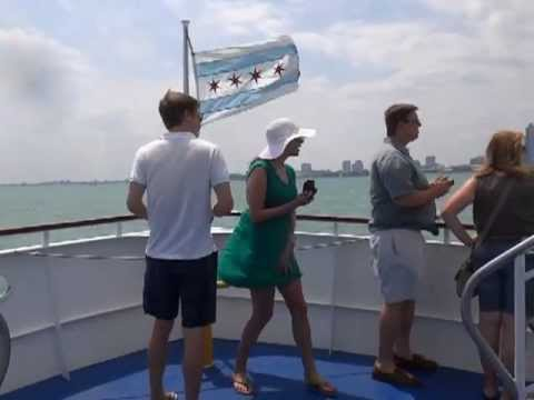 Windy Cruise On Lake Michigan video
