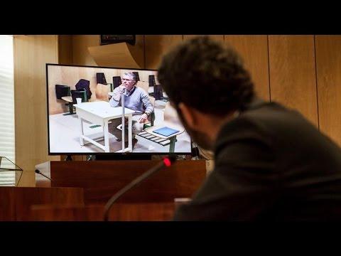 Francisco Granados declara ante la Asamblea de Madrid