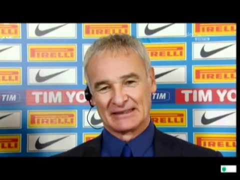 Inter vs Lecce 4-1 Intervista Claudio Ranieri Sky Calcio Show HD 21/12/2011