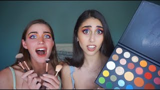 WE TRIED FOLLOWING A JAMES CHARLES MAKEUP TUTORIAL