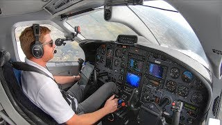 Flying Single Pilot into VERY BUSY AIRSPACE!