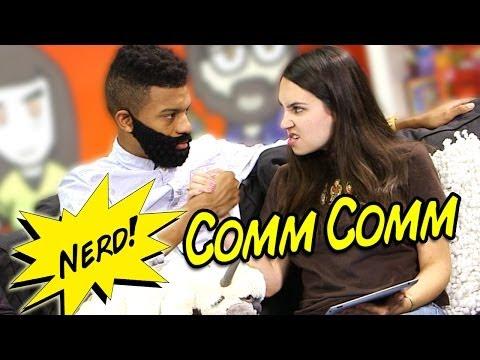 Crushin The P on NERD Comm Comm!