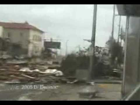 Hurricane Katrina Video from Gulfport MS