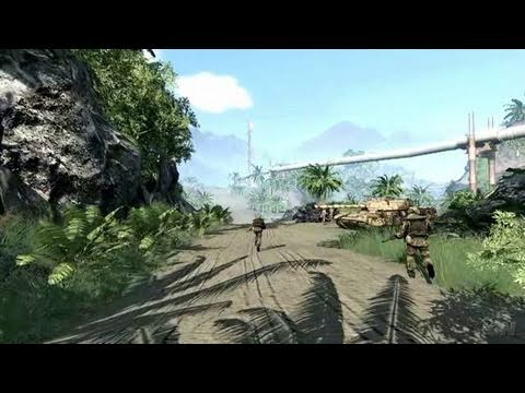 Crysis PC Games Trailer - DX10 Flyby (HD)