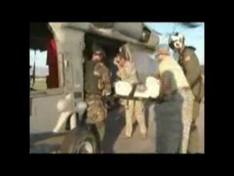 BREAKING NEWS FROM HAITI SH 60 Seahawk Delivering Goods to Haiti Navy First Responders Video