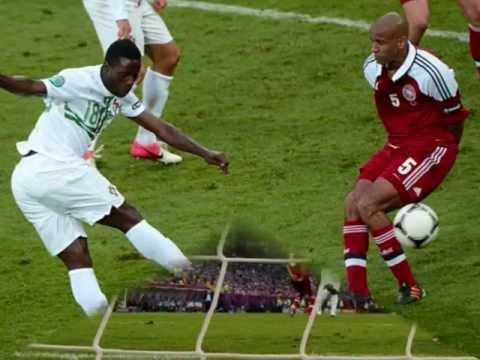 Varela golo Portugal 3-2 Dinamarca - relato e música TSF
