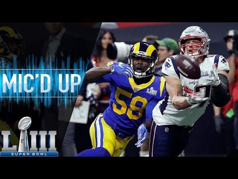 Super Bowl LIII: Patriots vs Rams Micd Up  NFL 2018 Season