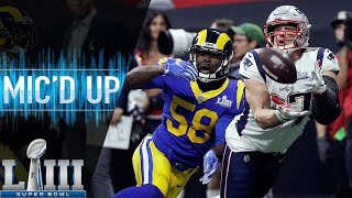 Super Bowl LIII: Patriots vs. Rams Mic'd Up | NFL 2018 Season