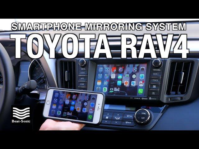 [Installation] 2014-2017 TOYOTA RAV4 Smartphone Mirroring ...