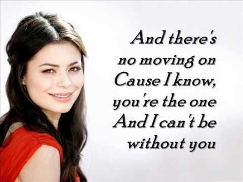 Miranda Cosgrove about you now lyrics