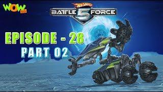 Motu Patlu presents Hot Wheels Battle Force 5 - Uprising  - S2 E28.P1 - in Hindi