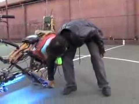 Choprical Fish -- a Human Powered Party Bike