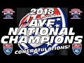 The 2018 AYF National Champions - Slide Show