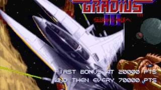 Gradius III Soundtrack - High Speed Zone