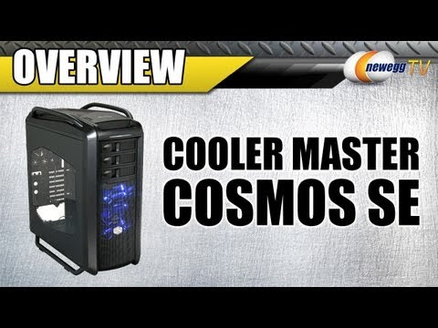 COOLER MASTER COSMOS SE Midnight Black Computer Case Overview - Newegg TV