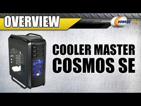 COOLER MASTER COSMOS SE Midnight Black Computer Case Ove