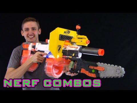 NERF COMBOS | RETALIATOR