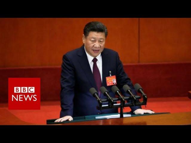China congress: Xi Jinping declares 'new era' for China  - BBC News