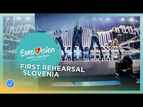 Lea Sirk - Hvala, ne! - First Rehearsal - Slovenia - Eurovision 2018