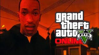 "GTA 5 Online: Will Carl ""CJ"" Johnson Return As A DLC Character? (GTA V)"