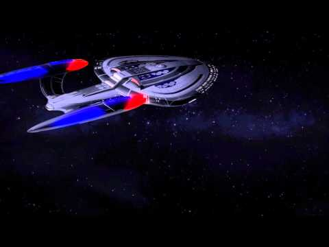 Hitfilm 2 Star Trek starship flyby
