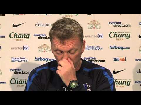 Swansea 0-3 Everton - moyes on a great performance | English Premier League 2012-13