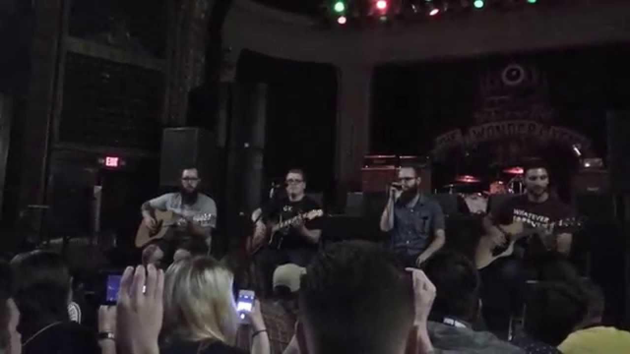 The Wonder Years Live Acoustic Living Room Song Columbus 2014 Youtube