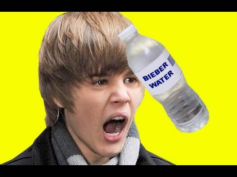 Justin Bieber Hit By Water Bottle AUTOTUNE REMIX
