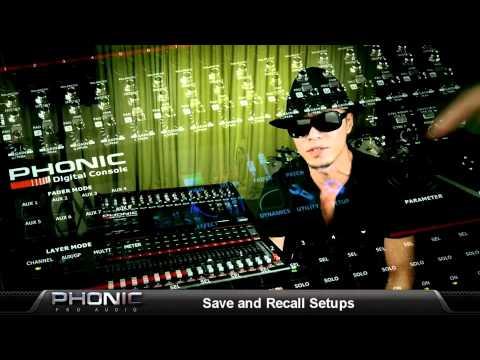 Phonic Digital Mixer (Español)