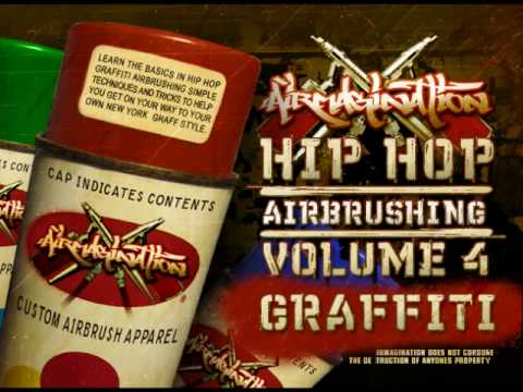 Learn How to Write Graffiti - Airbrush New York Graf Lettering Instructions