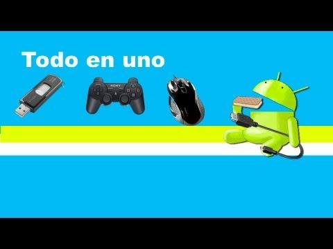 Cómo conectar tu android a un usb. mando de la play. o ratón