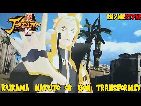 Naruto Shippuden  &  Hunter x Hunter: Kurama Mode Naruto vs Gon (Transformed)