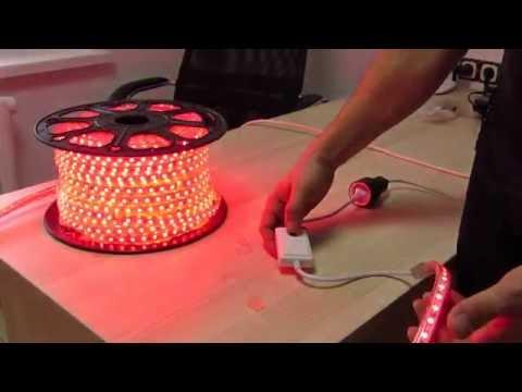 Светодиодная лента 220 вольт своими руками