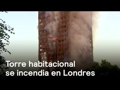 Incendio en torre de Londres - Londres - En Punto con Denise Maerker
