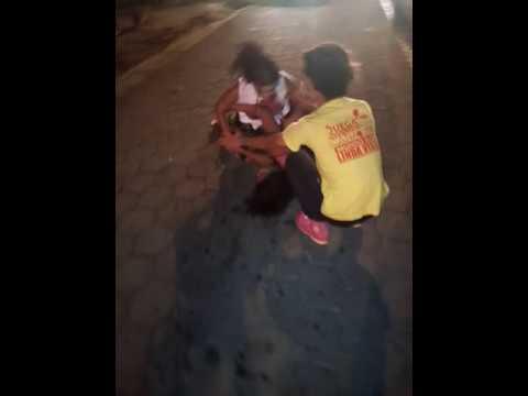 Pelea de mujeres en Nicaragua discotequero