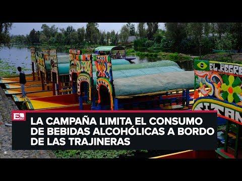 Arranca campaña de regulación del consumo de alcohol en Xochimilco