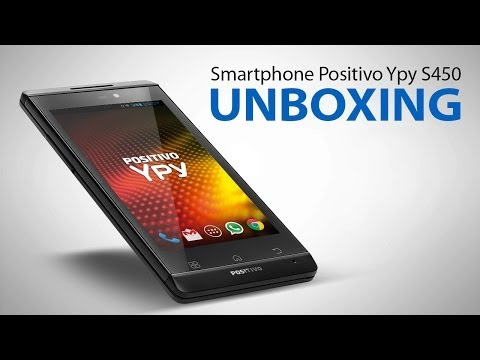 Smartphone Positivo S450 - unboxing