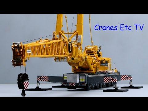 WSI Liebherr LTM 1500 Mobile Crane Luffing Jib by Cranes Etc TV