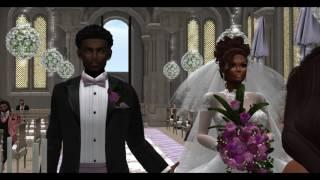 Second Life Wedding Video Scrapbook Samara and Juju Love 6282016
