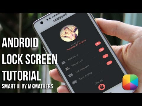 Smart UI Lock (by MKMathers)- Android Lock Screen Tutorial