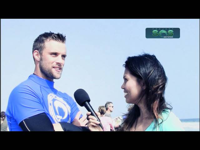 'House' Star Jesse Spencer hit the waves for Project Save Our Surf