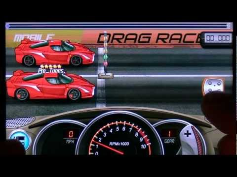 Drag Racing Ferrari FXX 7.586 Tune