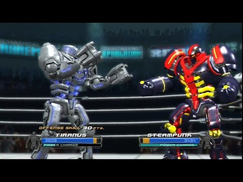 Real Steel-victory over a strong robot(part 11)