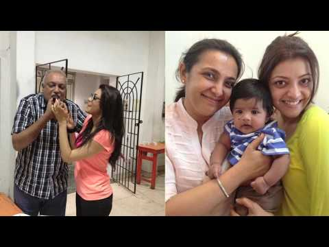 Kajal Agarwal : Sexy, Behind The Camera, Unseen Family Pics Collection video