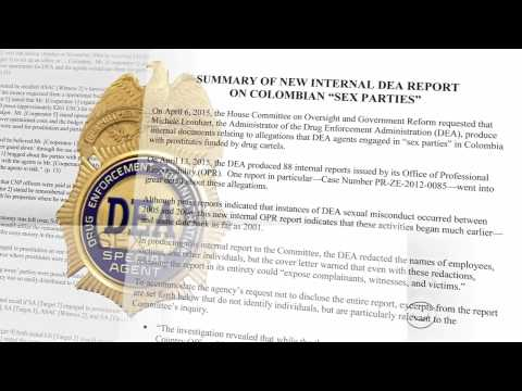 DEA Hired Prostitutes For Daily Sex Parties In Columbia